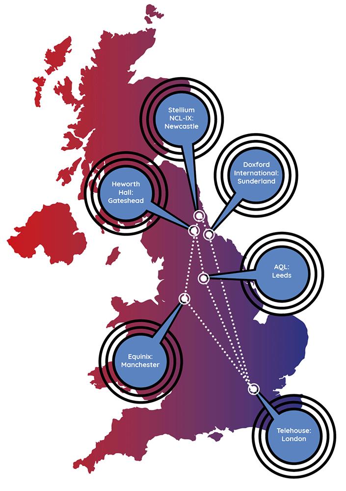 Aspire's Data Centre Network